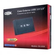 CASE PARA HD SATA 3,5 USB 3.0 DEX DX-3530