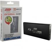 CASE PARA SSD M.2 USB 3.0 F3 CS-M2-01 PRETO