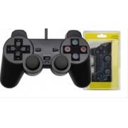 CONTROLE DUAL SHOCK PS2-PRETO 621-5