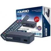 CONVERSOR DE TV DIGITAL AQUÁRIO DTV-4000S