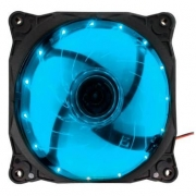 COOLER FAN 12X12 LED G-FIRE AZUL EW1512L