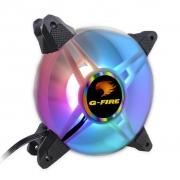 COOLER FAN 12X12 LED G-FIRE MULTICOLOR EW2112A