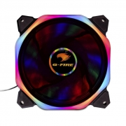 COOLER FAN 12X12 LED G-FIRE MULTICOLOR EW2412R