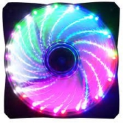 COOLER FAN 12X12 LED RAINBOW G-FIRE  EW1512R