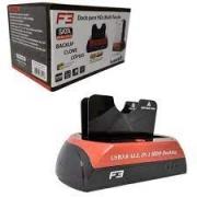 DOCK STATION PARA HD SATA 2,5/3,5 USB 2.0/3.0 F3 JC-DOC876U3