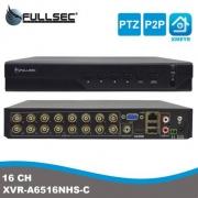 DVR HIBRIDO XVR 6 EM 1 16 CANAIS 1080N FULLSEC FSM-XVR16