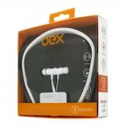 FONE DE OUVIDO C/ MICROFONE BLUETOOTH OEX HS-302 BRANCO