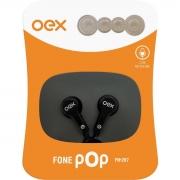 FONE DE OUVIDO COM MICROFONE POP OEX FN-207