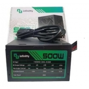 FONTE ATX 500W REAL INFINITTY FN500BR