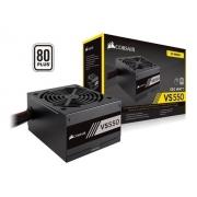 FONTE ATX 550W REAL 80 PLUS PFC ATIVO CORSAIR VS550