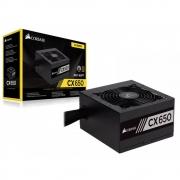 FONTE ATX 650W REAL 80 PLUS PFC ATIVO CORSAIR CX650