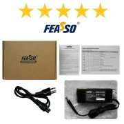 FONTE PARA NOTEBOOK 90W FEASSO FF-5063