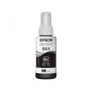 GARRAFA DE TINTA EPSON T66412-AL 70ML PRETA