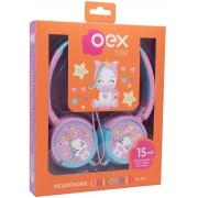 HEADPHONE UNICORNIO INFANTIL OEX KIDS HP-304