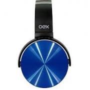 HEADSET BLUETOOTH COSMIC OEX HS-309 PRETO/AZUL