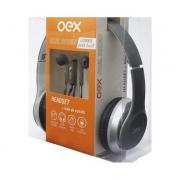 HEADSET E FONE DE OUVIDO OEX HF-100 PRETO