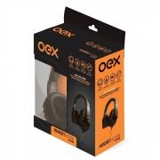 HEADSET GAMER OEX HS-200 PRETO/LARANJA