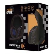 HEADSET GAMER BIT USB OEX HS-206 PRETO/AZUL