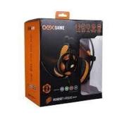 HEADSET GAMER P3 E USB 7.1 ARGOS OEX HS-417 PRETO/LARANJA