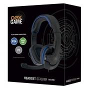 HEADSET GAMER STALKER P/XBOX/PS4/PC OEX HS-209 PRETO/AZUL