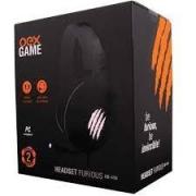 HEADSET GAMER USB 7.1 FURIOUS OEX HS-410 PRETO