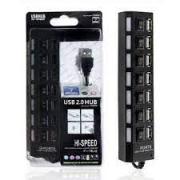 HUB USB 2.0 7 PORTAS F3 JC-HUB701