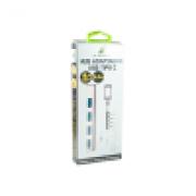 HUB USB-C 3.0 04 PORTAS X-CELL XC-HUB-9
