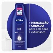 LOCAO HIDRATANTE NIVEA BODY MILK EXTRA SECA 200ML