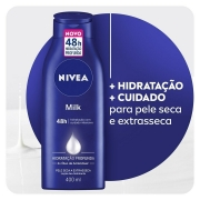 LOCAO HIDRATANTE NIVEA BODY MILK EXTRA SECA 400ML