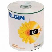 MIDIA CD-R 52X ELGIN BULK 700MB / 80MIN  COM 100UN