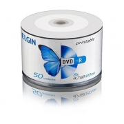 MIDIA DVD-R 4.7GB PRINTABLE BULK COM 50UND ELGIN
