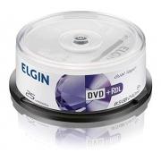 MIDIA DVD-R DUAL LAYER 8.5GB PINO COM 25UND. ELGIN