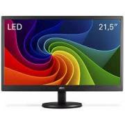 MONITOR LED AOC 21,5 FULL HD HDMI/VGA E2270SWHEN