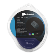MOUSE PAD GEL INFOWISE AZUL 3013