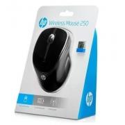 MOUSE SEM FIO 1600DPI HP 250 PRETO 3FV67AA