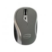 MOUSE SEM FIO 1600DPI WAVE NEWLINK MO112 PRETO/CINZA