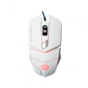 MOUSE USB 2400DPI GAMER LIGHT HOOPSON MS-030B BRANCO