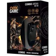 MOUSE USB COM MOUSE PAD GAMER OEX MC-102 PRETO