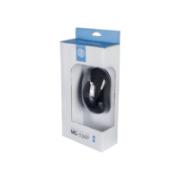 MOUSE USB ERGONOMICO 1000DPI HOOPSON MS-034P PRETO