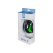 MOUSE USB ERGONOMICO 1000DPI HOOPSON MS-034V PRETO/VERDE
