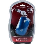 MOUSE USB RETRATIL C3TECH MS3220-2 AZUL