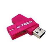 PEN DRIVE 16GB USB 2.0 UTECH ROSA