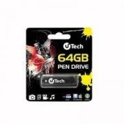 PEN DRIVE 64GB USB 2.0 UTECH PRETO
