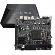 PLACA MAE INTEL DUEX DX H61M SK-1155