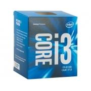 PROCESSADOR INTEL CORE I3-6100 3.7GHZ 3MB BOX  SK-1151
