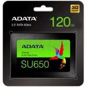 SSD INTERNO 2.5 120GB SATA 3 ADATA ASU650SS-120GT-R