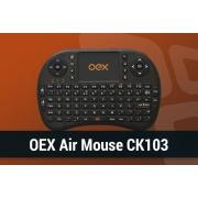 TECLADO E MOUSE TOUCH PAD PARA TV SMART OEX CK-103