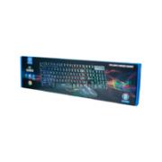 TECLADO E MOUSE USB GAMER RGB SENSAÇÃO MECÂNICA HOOPSON TPC-053K
