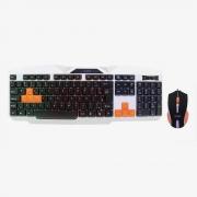 TECLADO E MOUSE USB MULTTIMIDIA GAMER OEX TM-300