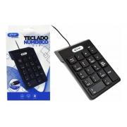 TECLADO NUMÉRICO USB 2.0 KNUP KP-2003A PRETO